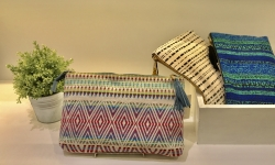 Jacquard Clutch Pouch入荷致しました!