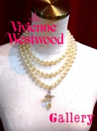 Vivienne Westwood 3連パール ネックレス入荷
