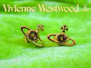 Vivienne Westwood NANO SOLITAIRE スタッズピアス