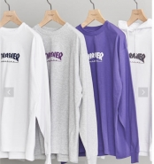 <THRASHER> 別注 LONG SLEEVE TEE