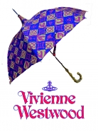 Vivienne Westwood ベルベットORB 長傘入荷